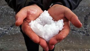 Ege ve Marmara'da bugün için dolu yağışı alarmı verildi
