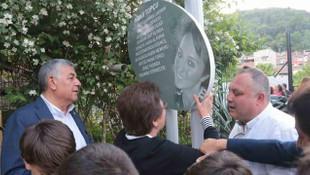 Mana Topçu Parkı gözyaşlarıyla açıldı