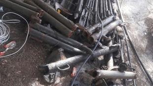 Afrin'de mühimmat deposu bulundu
