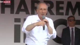 TRT canlı yayında Muharrem İnce'ye yakalandı