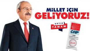 CHP o ifadeyi seçim sloganı yaptı