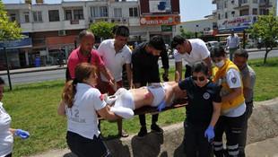 Antalya'da kazada yaralanan turist kız için vatandaş seferber oldu