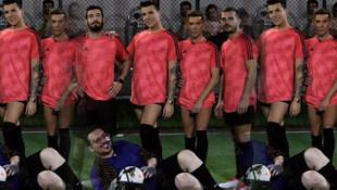 Kerimcan Durmaz'ın halı saha maçı hatırası olay oldu