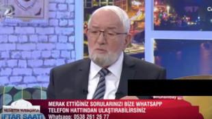 Kanal 7'deki iftar programında şoke eden soru