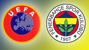 UEFA'dan Fenerbahçe'ye ceza geliyor !