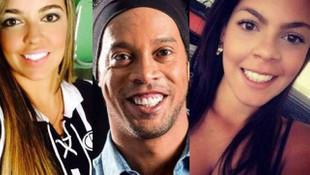 Ronaldinho iki kadınla birden evleniyor !