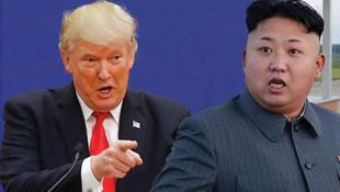 Trump Kuzey Kore'yi tehdit etti !