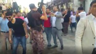 Askeri dövdüler, polise saldırdılar, karakolu bastılar !
