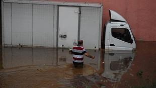 Bursa'da sel felaketi !