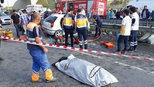 Arnavutköy'de korkunç kaza: 3 ölü