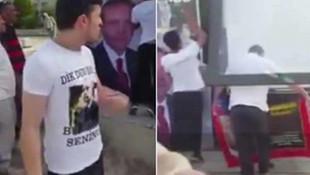 Fransa'daki Türklerden tepki yağdı ! O afiş kaldırıldı
