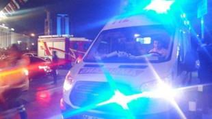 TRT dizisinin çekiminde bir çocuk alevlerin içinde kaldı