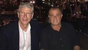 Terim ve Wenger bir araya geldi !