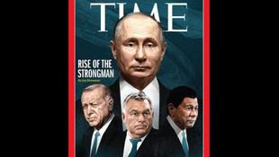 Erdoğan Time'ın kapağında