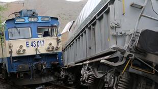 Malatya'da tren kazası ! Vagonlar raydan çıktı