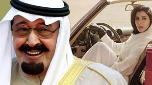 Suudi Arabistan prensesi model oldu !