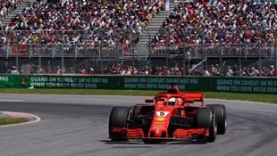 Vettel Kanada'da rekor kırdı !