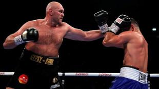 Tyson Fury geri döndü ! Muhteşem maç...