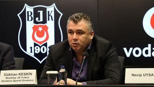 Gökhan Keskin Beşiktaş'tan ayrıldı !