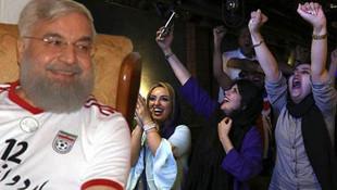 Ruhani milli maçı böyle izledi