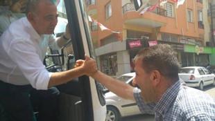 CHP'li vekil Tekin ''İnce'' İzmir'de turlarına başladı