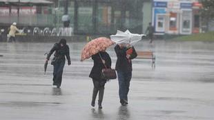 Yaz geldi diye sevinenlere kötü haber ! Yağmura devam...