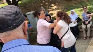 Şehit annesiyle CHP'liler birbirine girdi