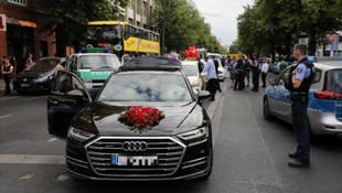 Türk düğün konvoyu Almanya'yı karıştırdı