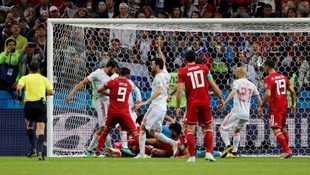 İspanya 1 attı 3 aldı !