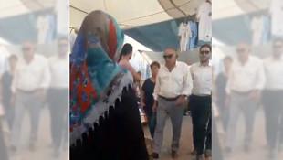 AK Partili milletvekili adayı esnafla kavga etti