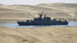 Diken üstünde ! İran savaş gemilerini gönderdi
