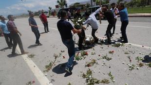 Şehit cenazesinde Kılıçdaroğlu'nun çelengine tepki