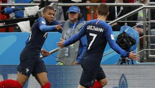 Fransa Peru'ya tek attı !