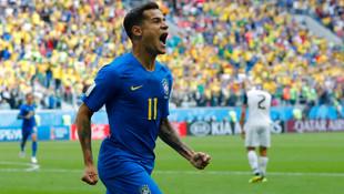 Brezilya - Kosta Rika: 2-0 maç özeti