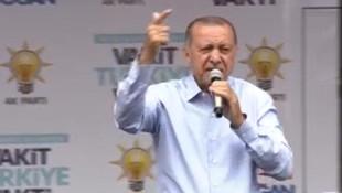 Erdoğan'dan İnce'ye çok sert sözler !