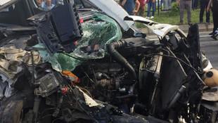 Trabzon'da feci kaza: Yaralılar var