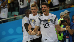 Almanya - İsveç: 2-1 maç özeti