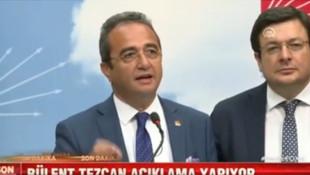 Bülent Tezcan seçim açıklaması