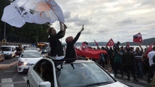 AK Partililer kutlamalara başladı
