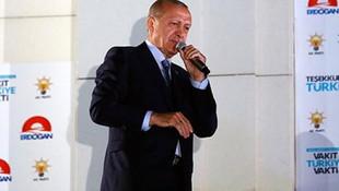 Cumhurbaşkanı Erdoğan'ın rekor kırdığı ilçe ! Arayıp teşekkür etti