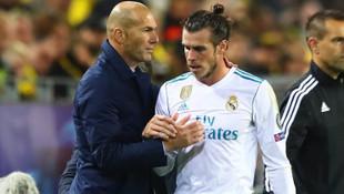 Bale, Zidane'a veda etmedi !