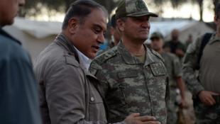 Korgeneral İsmail Metin Temel Afrin'de