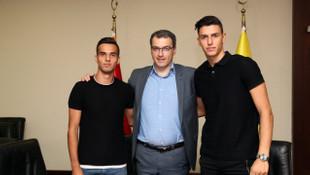 Barış Alıcı ve Berke Özer resmen Fenerbahçe'de !