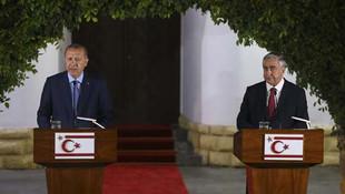 Erdoğan'dan KKTC'de net mesaj: ''İzin verilmeyecek''