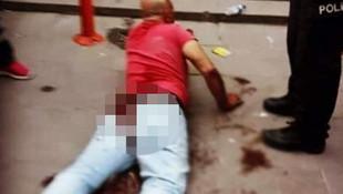 Ankara'da kızını taciz eden adamı sokak ortasında hadım etti