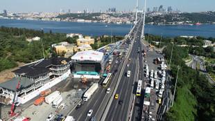 15 Temmuz Şehitler Köprüsü törene hazırlanıyor