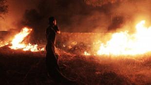Bodrum'da gece yarısı korku dolu anlar