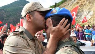PKK'yı bozguna uğratan kahramanlar böyle karşılandı