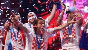 Hırvatistan Milli Takımı'na tarihi ödül !
