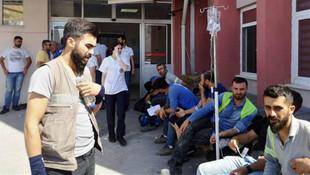 İzmir'de 700 işçi zehirlendi